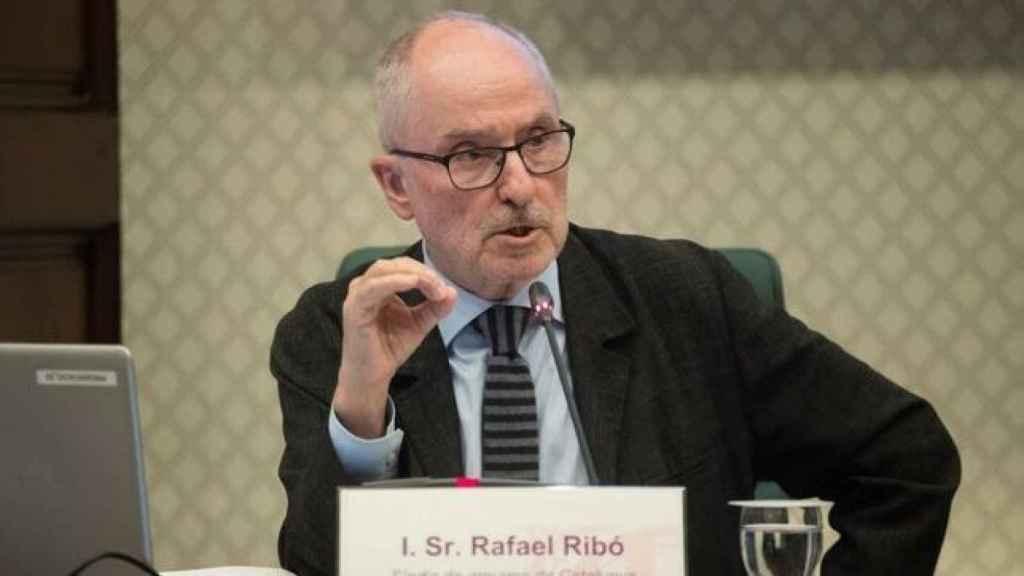 Rafael Ribó, el defensor del pueblo autonómico catalán.