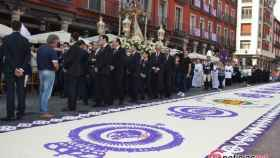 procesion virgen san lorenzo fiestas valladolid 2017 14