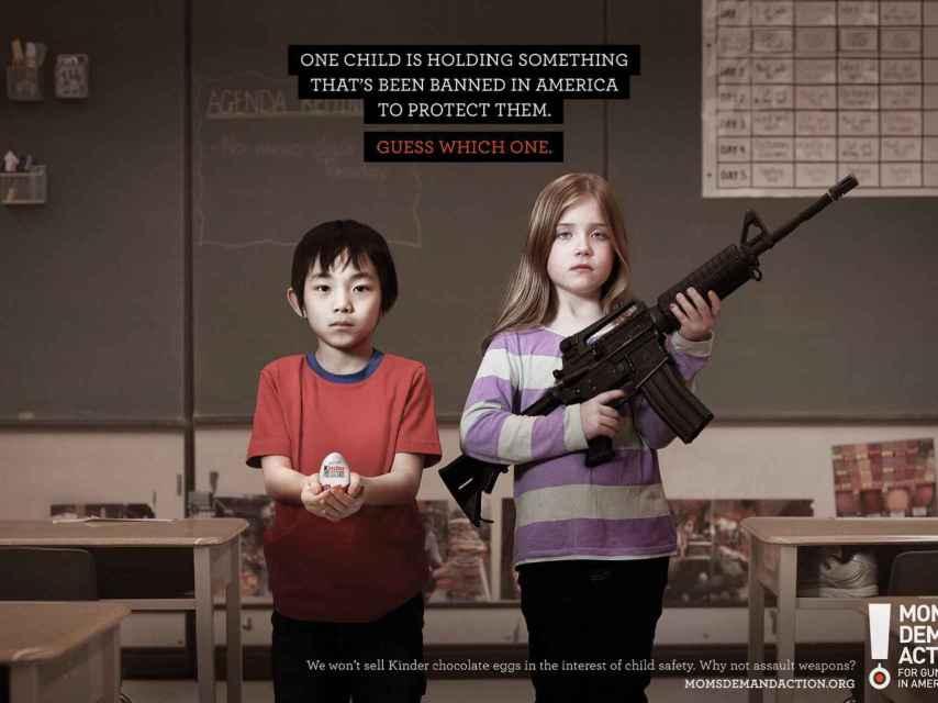 Imagen de la campaña firmada por la ONG