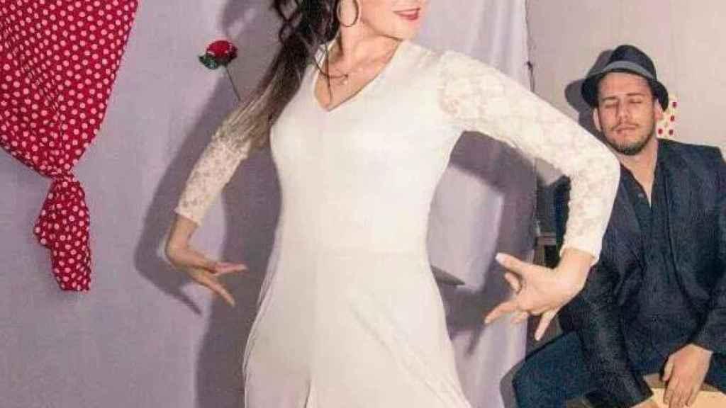 Joana Sainz, bailarina de la orquesta Súper Hollywood.