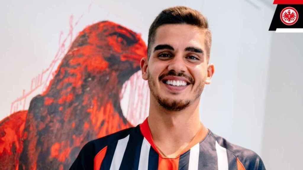 André Silva, nuevo jugador del Eintracht Frankfurt