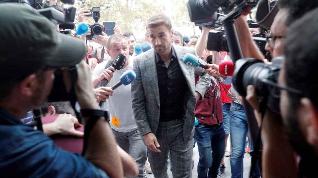 Gabi, llegando al juicio por amaños del Levante-Zaragoza.