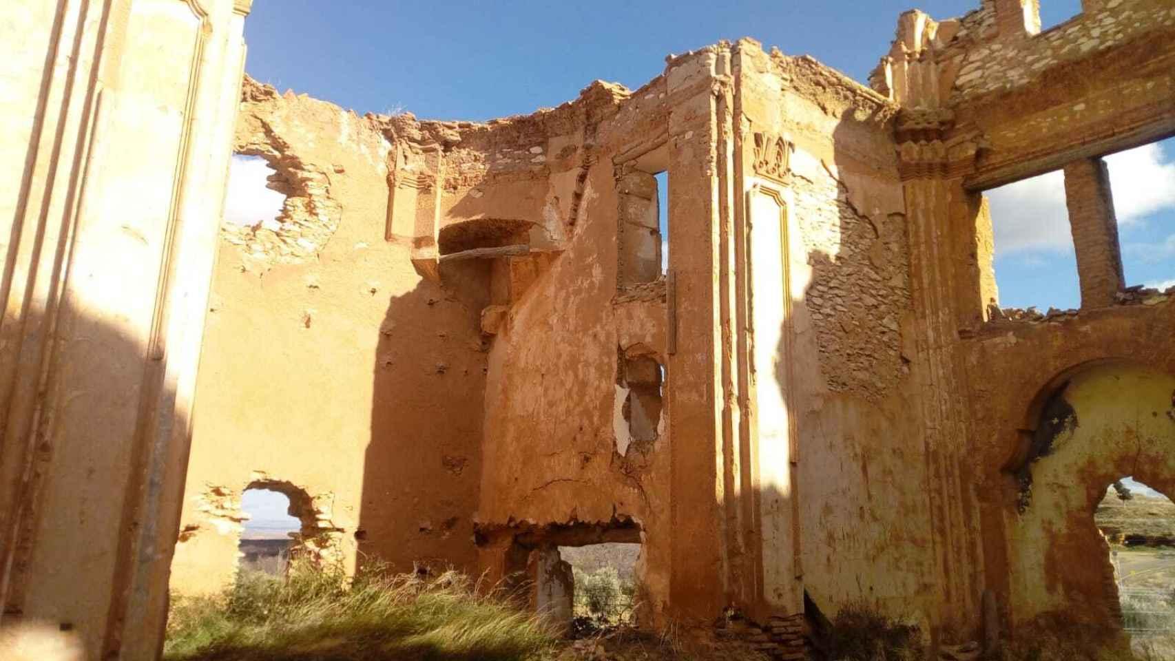 Iglesia del Convento de San Rafael del Pueblo Viejo de Belchite