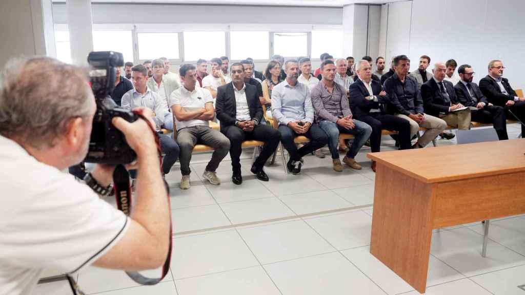 Arranca el juicio por el posible amaño de un encuentro que disputaron el Levante y el Zaragoza en 2011