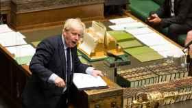 Boris Johnson este martes en el Parlamento británico