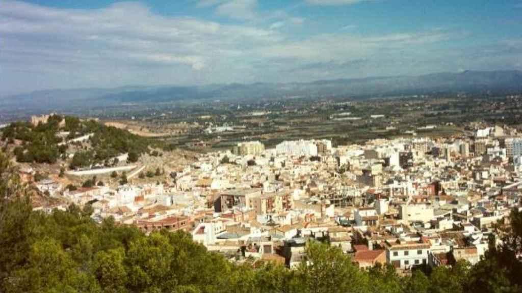 El pueblo de Liria, en Valencia, donde vivía José Vicente.