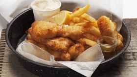 'Fish and chips', la comida británica por excelencia.