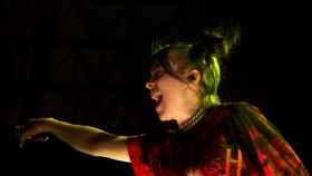 Billie Eilish en concierto.