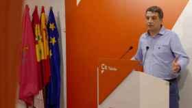 Esteban Paños, portavoz de Ciudadanos en el Ayuntamiento de Toledo