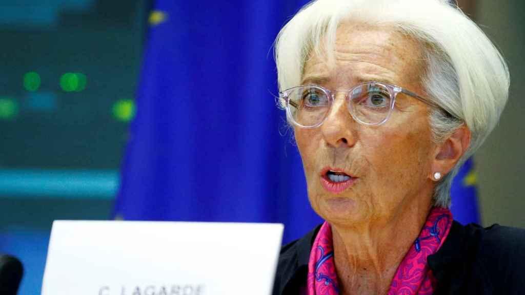 Lagarde ha sido examinada este miércoles por el Parlamento Europeo