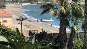 Los hechos ocurrieron a plena luz del día en una playa malagueña.