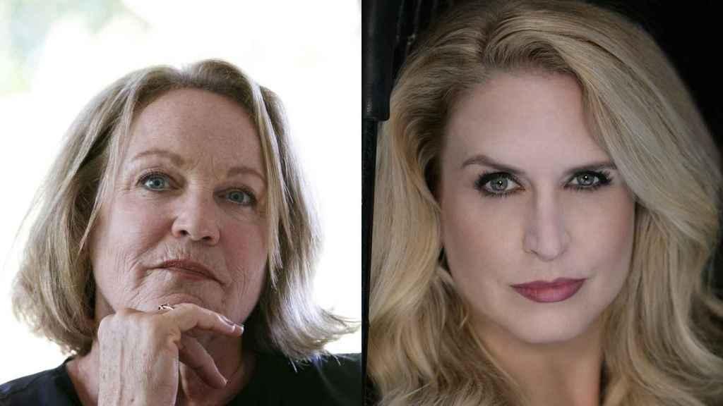 Patricia Wulf y Angela Turner Wilson.