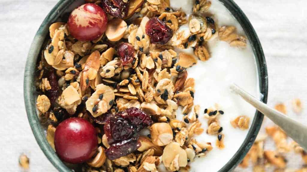 Solas o acompañadas de yogur, fruta u otros frutos secos, son un alimento ideal para el desayuno.