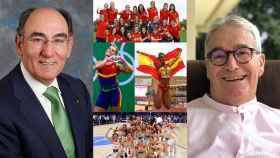 Ignacio Sánchez Galán, Lidia Valentín, María Vicente, las selecciones de fútbol y baloncesto y Francisco Luzón.