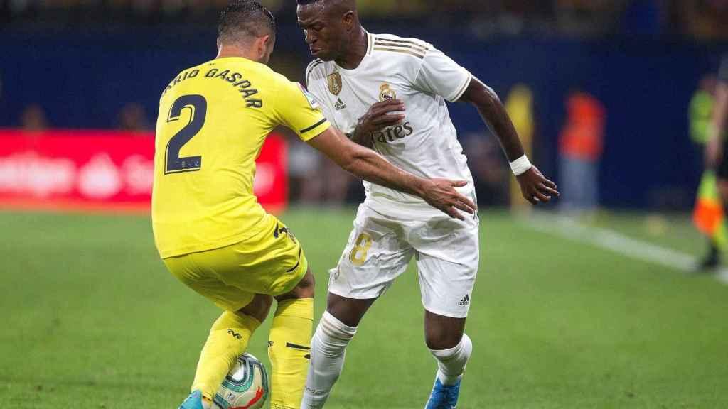 Vinicius, contra el Villarreal