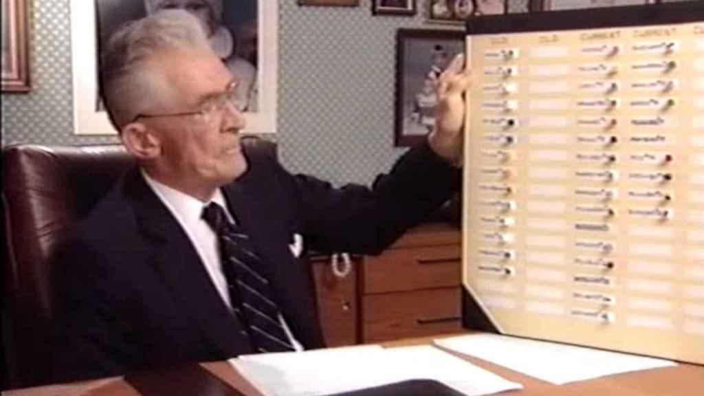 Robert K. Graham en una entrevista en 1994, tres años antes de su muerte.