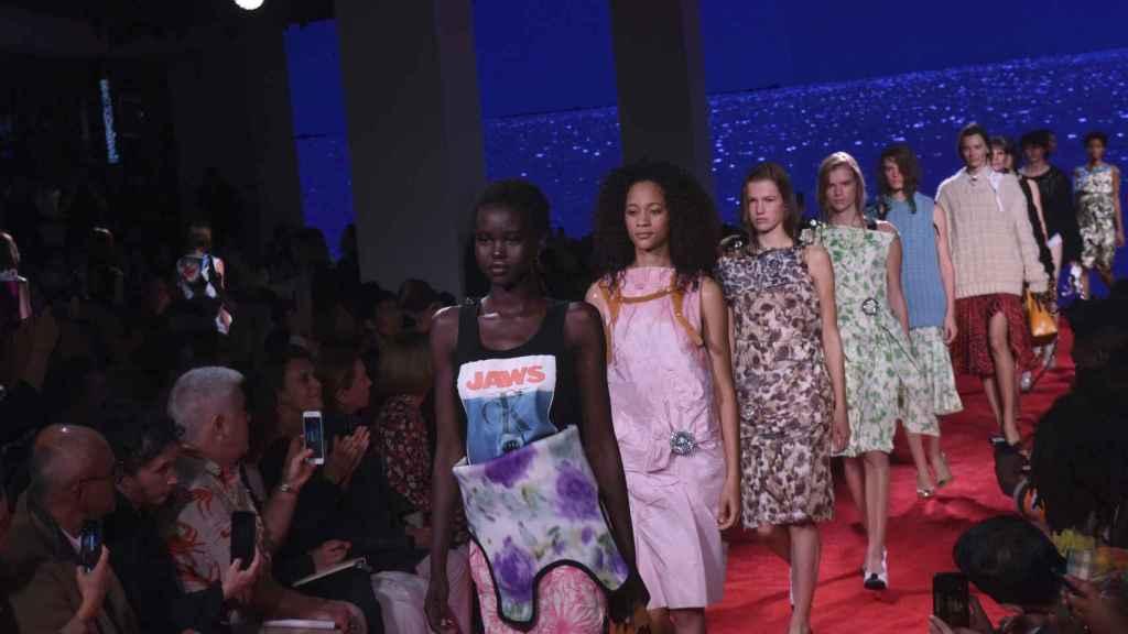 Desfile de Calvin Klein en la New York Fashion Week 2018.