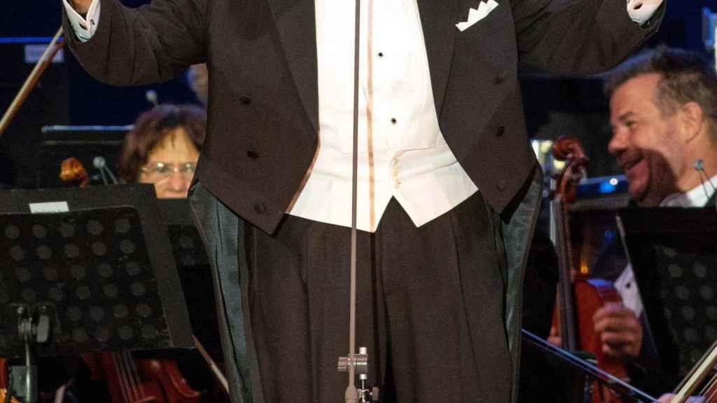 Plácido Domingo, durante una actuación en Hungría la semana pasada.