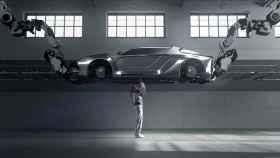 Esqueleto robótico de Hyundai.