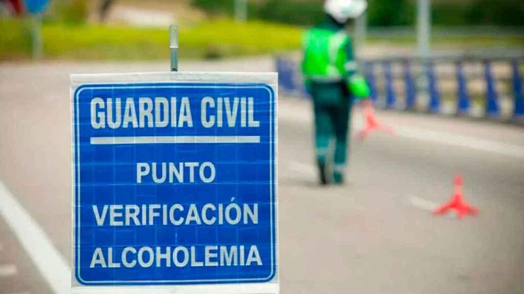 La Guardia Civil pilló al hombre, de 59 años, en un control de tráfico.