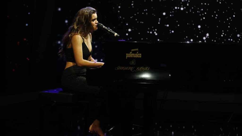 Amaia Romero ha actuado en directo en 'El Hormiguero'.