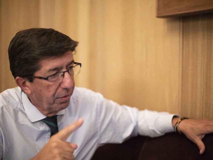 Marín hizo presidente de la Junta a Moreno Bonilla.