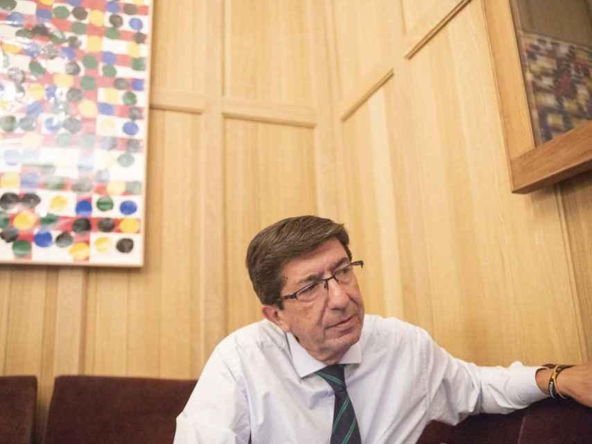 Marín insiste en que la incompatibilidad es sólo con el PSOE de Sánchez.