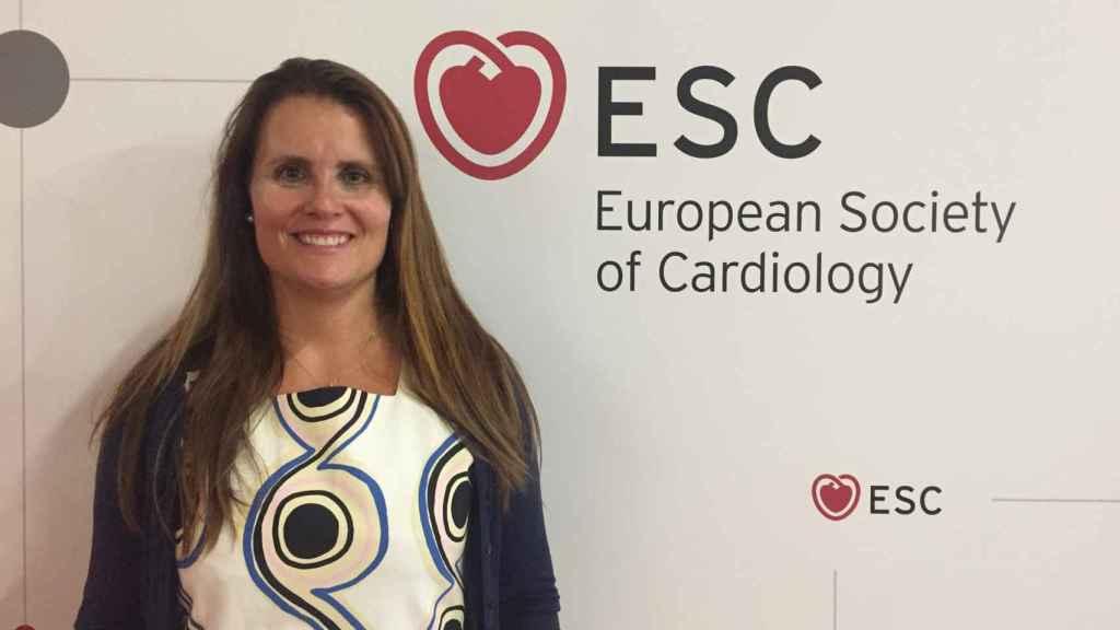 Elena Arberlo, consultora del Instituto Cardiovascular del Hospital Clínico de Barcelona y miembro del Comité de Medios de la Sociedad Europea de Cardiología (ESC).