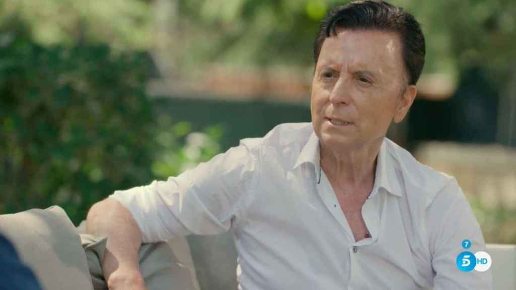 Ortega Cano en 'Mi casa es la tuya'.