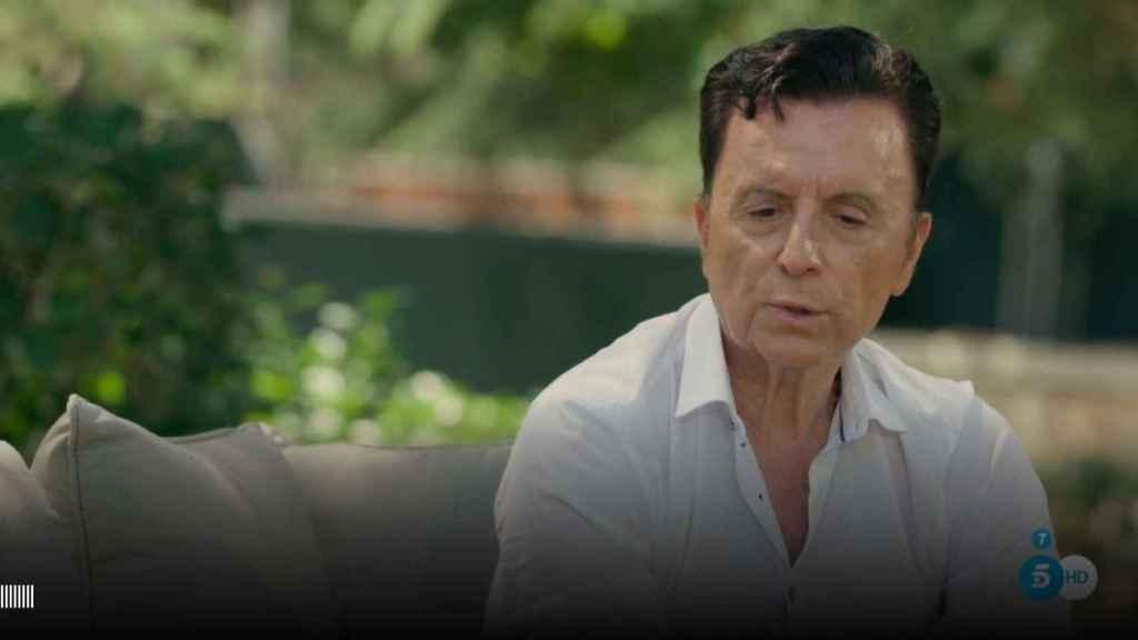 José Ortega Cano en su entrevista con Bertín Osborne.