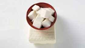 Tofu: pura proteína vegetal.