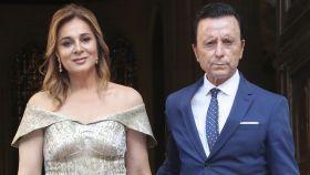 Ana María Aldón junto a Ortega Cano en una imagen de archivo.