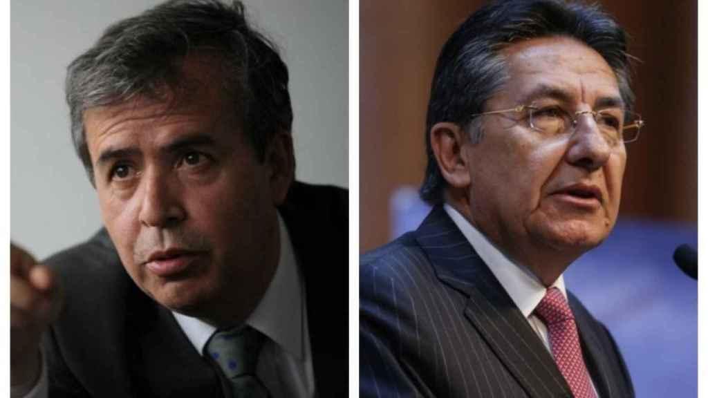 El abogado Alex Vernot y el exfiscal colombiano
