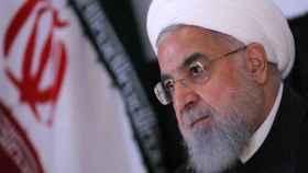 El presidente de Irán, Hasán Rohaní Brendan Mcdermid.