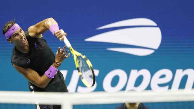 Rafael Nadal en el US Open