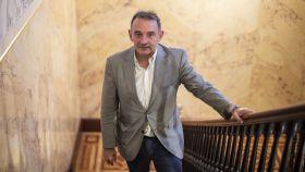 Enrique Santiago, en el Congreso de los Diputados.