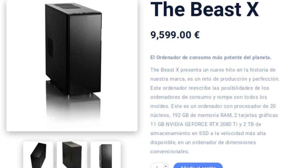 Ordenador The Beast X.