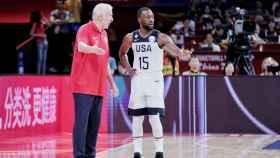 Kemba Walker con Estados Unidos.