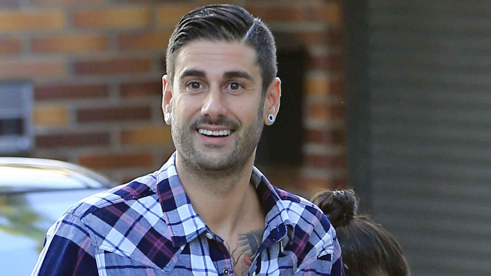 El cantante Melendi en una imagen tomada días antes del enlace.