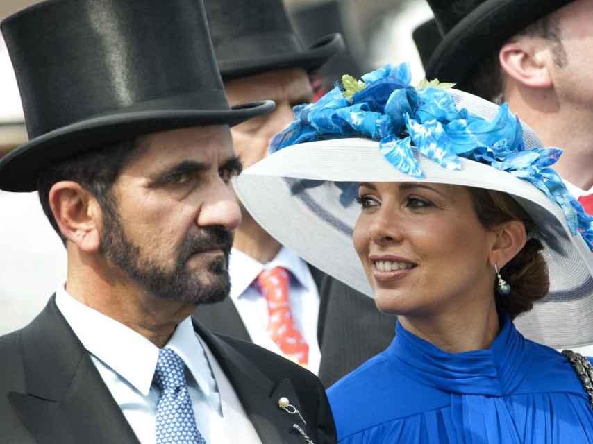 La princesa Haya junto a su exmarido, el emir de Dubái, en una imagen de 2010.
