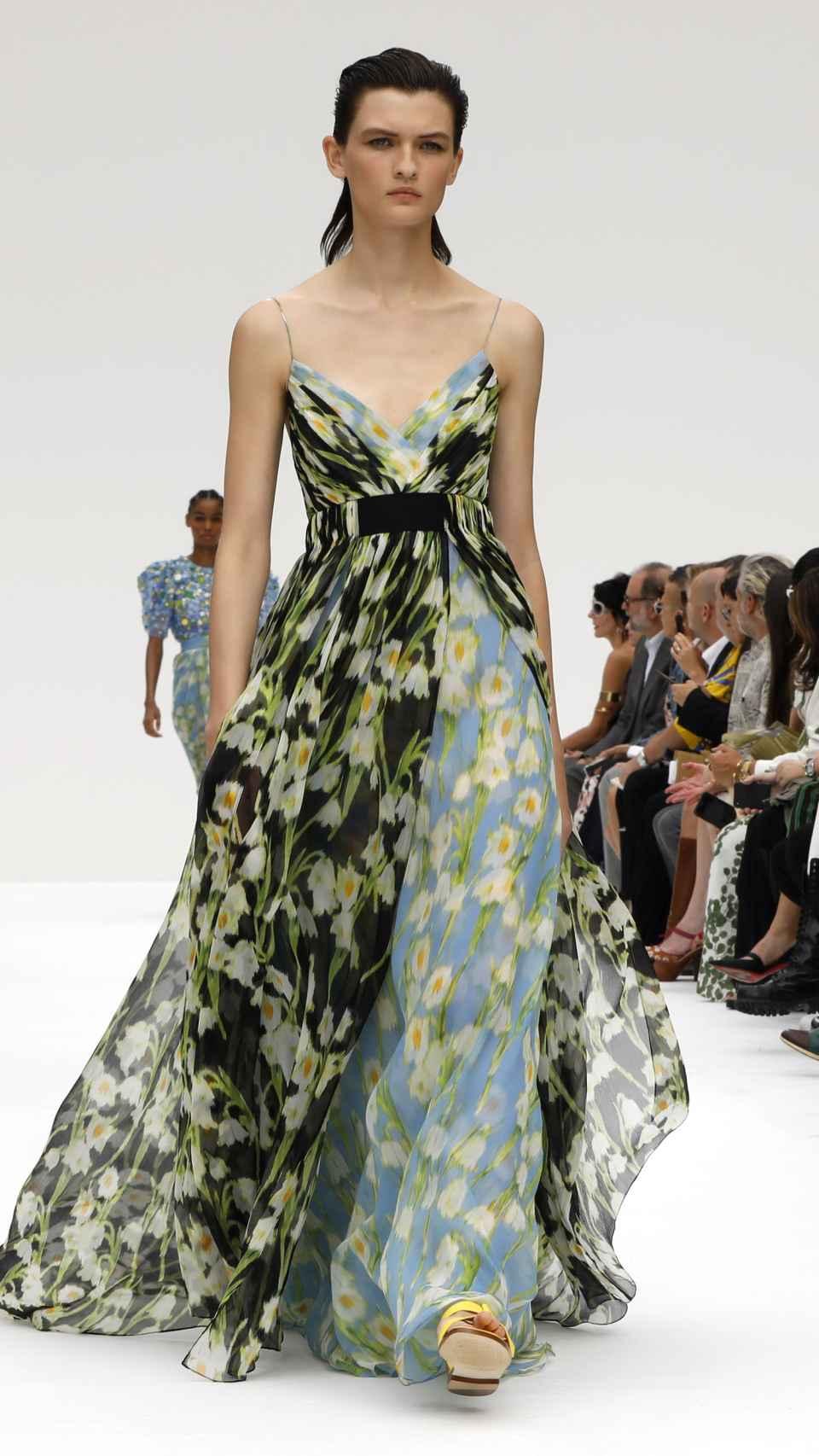 Desfile de Carolina Herrera en la Semana de la Moda de Nueva York.