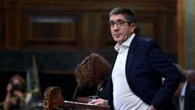 Patxi López, diputado del PSOE, durante el primer pleno del curso político en el Congreso.