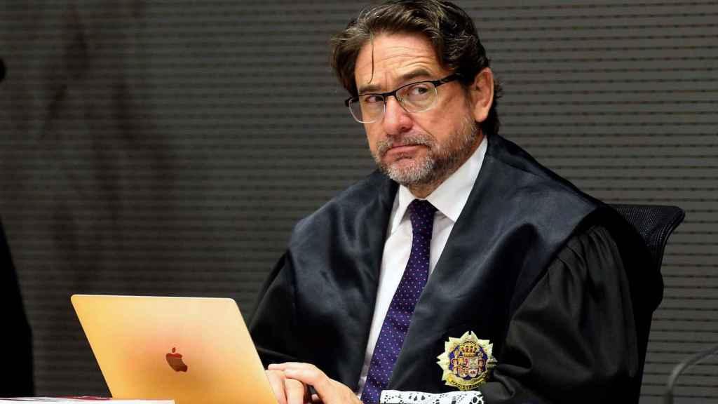 El juez Salvador Alba, en una fotografía de archivo fechada en Las Palmas en mayo de 2016.