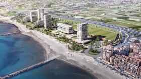 Una promoción de Quabit Inmobiliaria en Valencia.