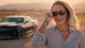Valerie Plame en el vídeo promocional de su campaña