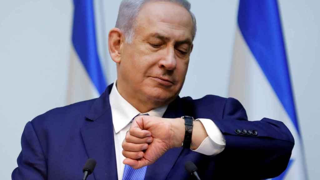 Netanyahu en una imagen de archivo