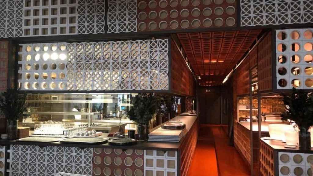 El restaurante en Barcelona