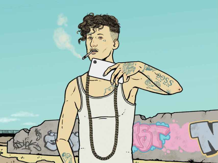 Portada de El Trap, de Ernesto Castro.