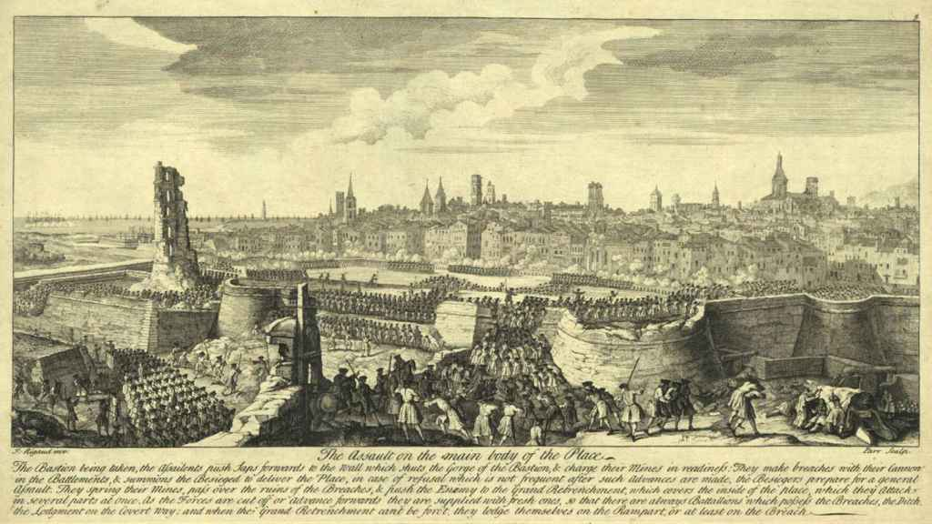 Asalto final de las tropas borbónicas sobre Barcelona (11 de septiembre de 1714).