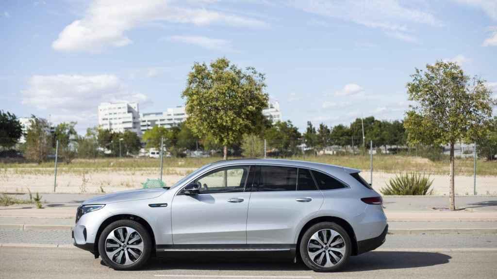 Este es el aspecto del primer eléctrico de Mercedes-Benz